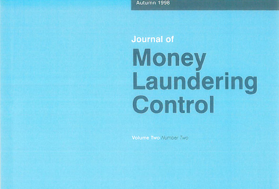 Carlo Zaccagnini, Italy: Suspicious transactions reporting, recent developments in legislation, Journal of Money Laundering Control, Vol. 2 No. 2, Autumn 1998.